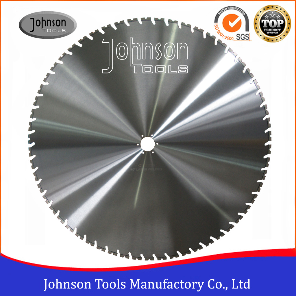 "40"" Laser Welded Diamond Saw Blades for Wall Saw Concrete"