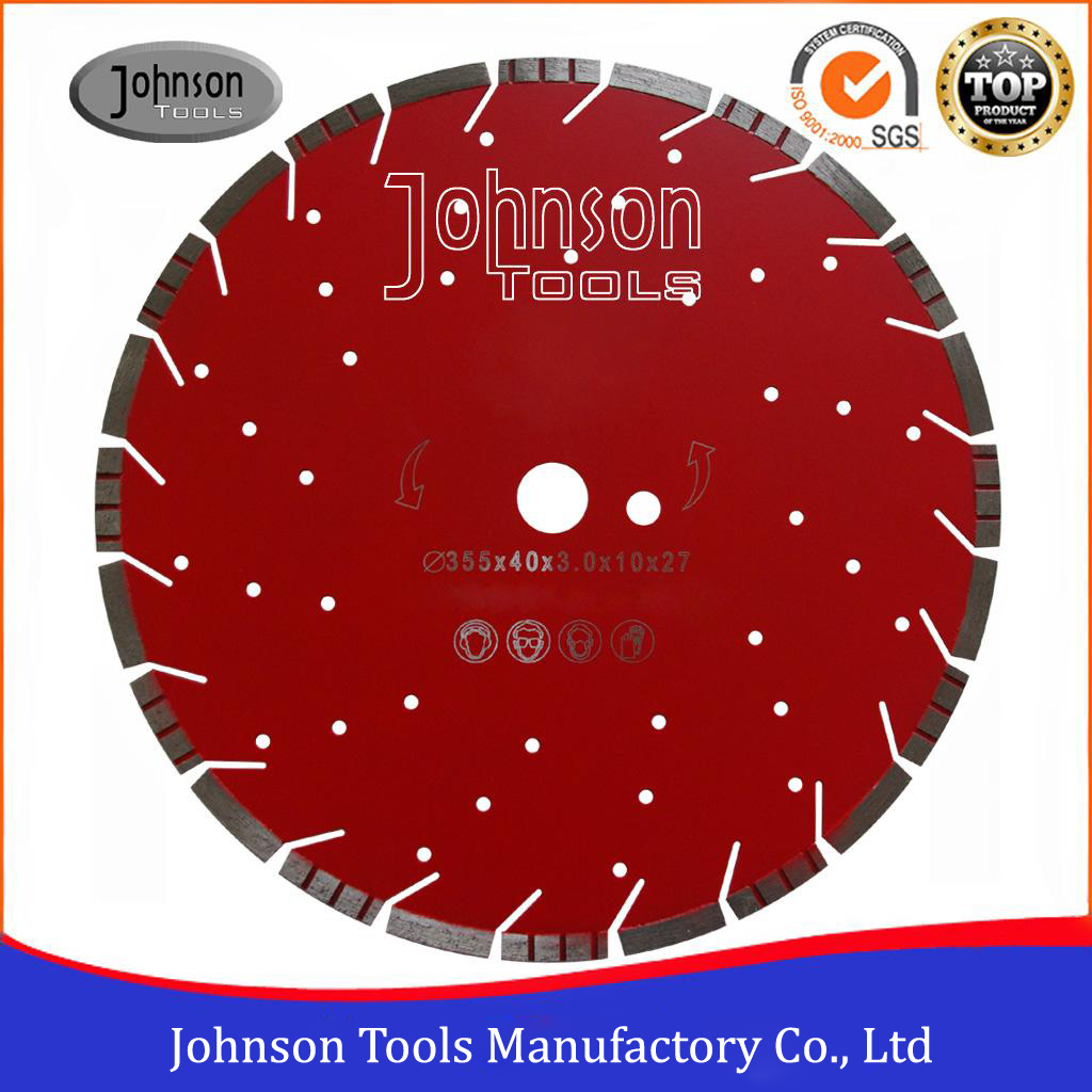 "14"" General Purpose Saw Blade with Alternating Turbo Segment"