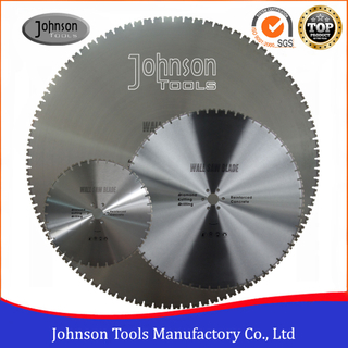 600-1600mm Laser Welded Diamond Saw Blade for Wall Saw Concrete Cutting