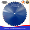 600-1600mm Laser Welded Wall Saw Diamond Blade for Cutting Concrete Wall