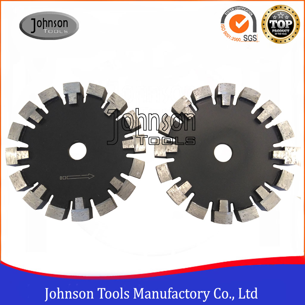 160mm Laser Welded Tuck Point Blade with Protection Teeth