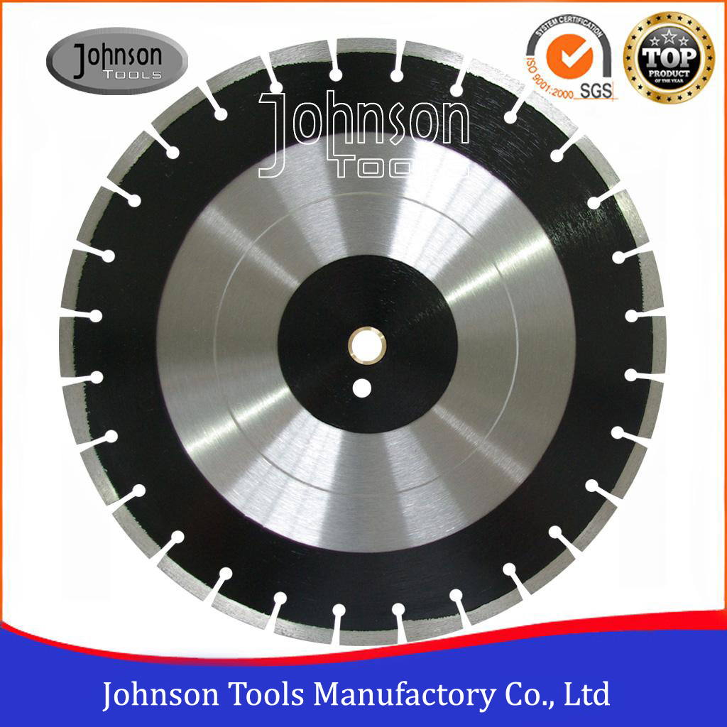300-600mm Asphalt Cutting Tools with Angled Protection Segment