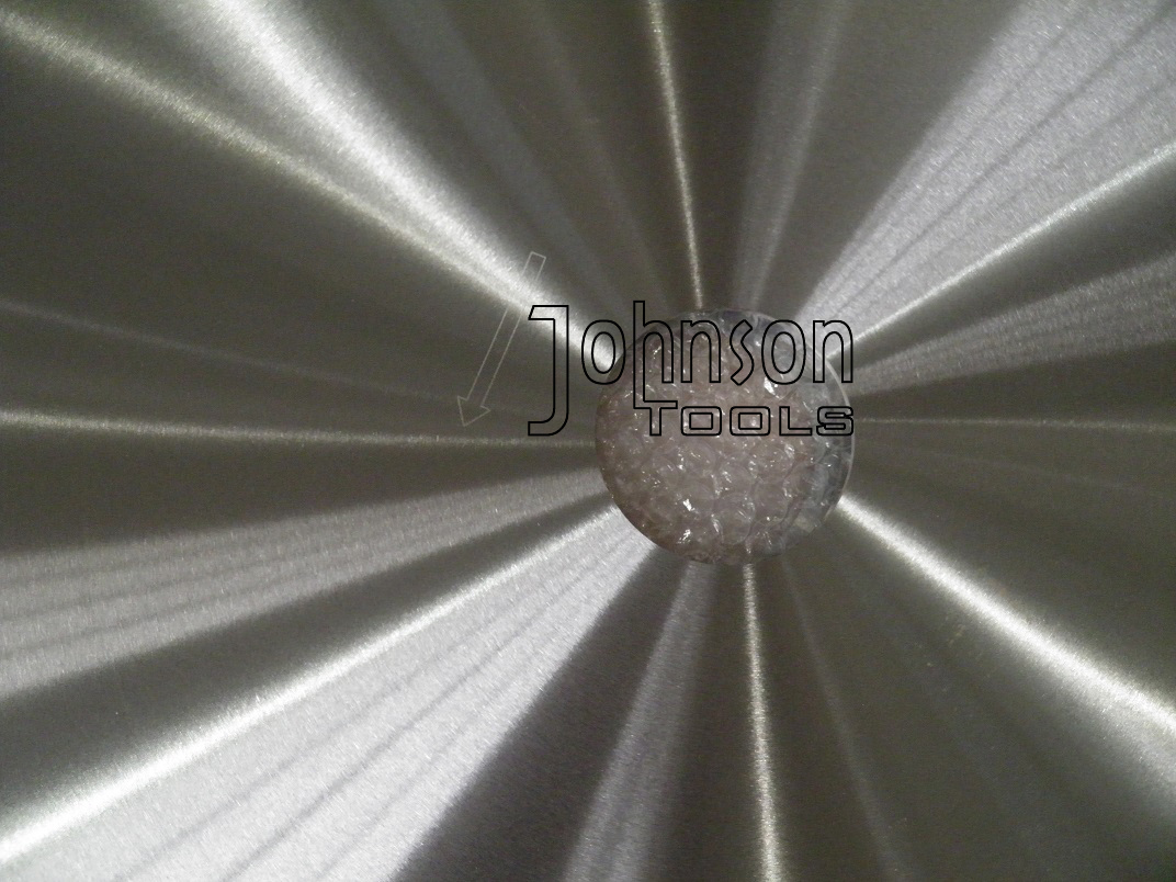 "30""(750mm) Laser Welded Saw Blade For Cutting Coral Rock"