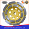 105mm Double Row Cup Wheel for Stone