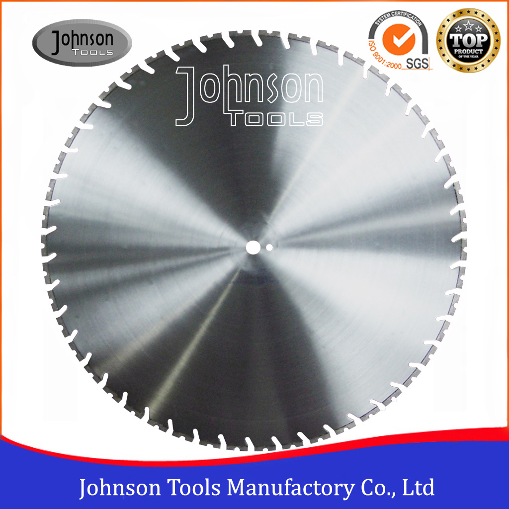 760mm Laser Welded Diamond Wall Saw Blades for Wall Sawing and Demolition