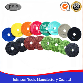 100mm Diamond Wet Polishing Pad for Granite