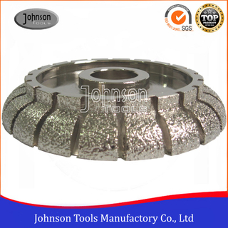 Vacuum Brazed Cove Diamond Profile Wheels