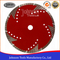 4-9 inch Sintered Blade with Protection Teeth Cutting Granite