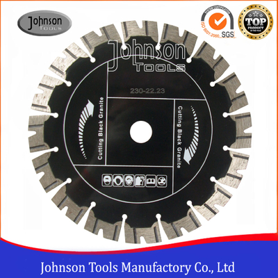 230mm Sintered Segmented Turbo Saw Blade for Cutting Black Granite