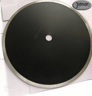 OEM Ceramic Tile Saw Blades 350mm Diamond Sintered Continuous Rim Saw Blade