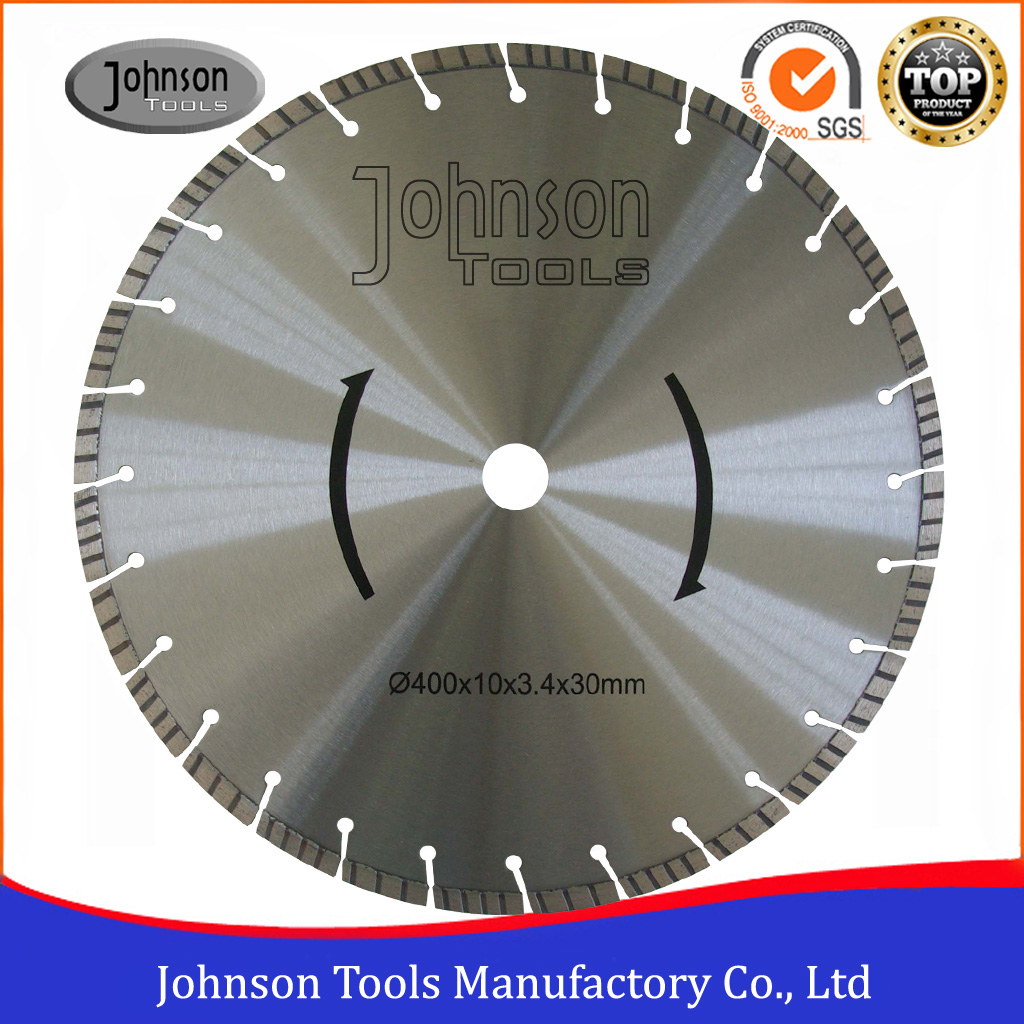 105-600mm Laser Welded Concrete Cutting Blade for Cured Concrete