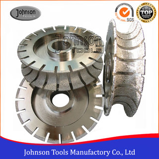 Vacuum Brazed Diamond Full Bullnose Diamond Profile Wheels